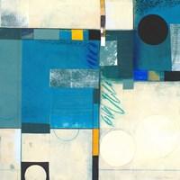 Calypso Blue I Fine-Art Print