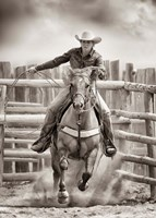 Ride 'Em Cowgirl Fine-Art Print