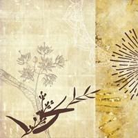Golden Henna Breeze 1 Fine-Art Print