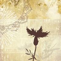 Golden Henna Breeze 2 Fine-Art Print