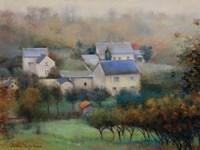Countryside Hamlet Fine-Art Print