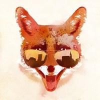 Big Town Fox Fine-Art Print