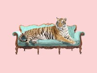 Lazy Tiger Fine-Art Print