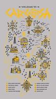 True Detective Map Fine-Art Print