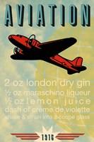Aviation Recipe Fine-Art Print