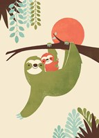 Mama Sloth Fine-Art Print