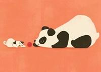 The Pug and the Panda Fine-Art Print