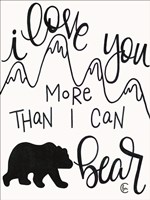 More Than I can Bear Fine-Art Print