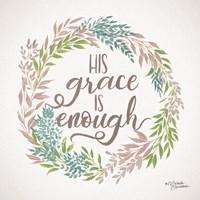 His Grace is Enough Fine-Art Print