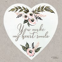 You Make My Heart Smile Fine-Art Print