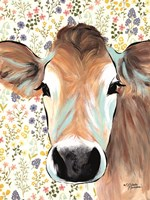 Bluebell Cow Fine-Art Print