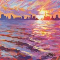Skyline Sunset Fine-Art Print