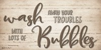Wash Your Troubles Fine-Art Print