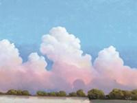 River & Sky Meet The Clouds Fine-Art Print