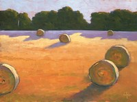 While The Hay Shines Fine-Art Print