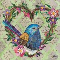 Heart Wren Fine-Art Print