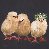 Chick Trio Fine-Art Print