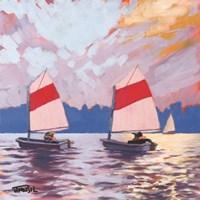 Two Sailboats Fine-Art Print