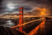 Golden Gate Evening Fine-Art Print