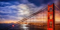 N. Tower Panorama - GG Bridge Fine-Art Print