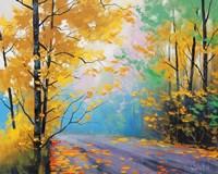 Misty Autumn Day Fine-Art Print