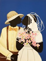 You May Kiss The Bride Fine-Art Print