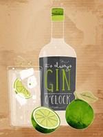 Gin O'Clock Fine-Art Print