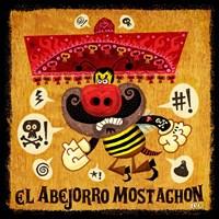 Abejorro Mostachon Fine-Art Print