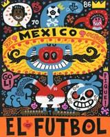 La Mascota del Mundial Fine-Art Print