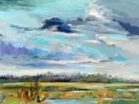 Marsh Skies Fine-Art Print