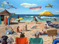 Dog Beach Fine-Art Print