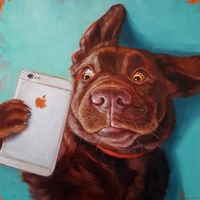 Dog Selfie Fine-Art Print