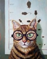 Feline Eye Exam Fine-Art Print
