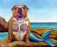 Mermaid Dog Fine-Art Print