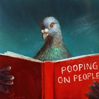 Pooping on People Fine-Art Print