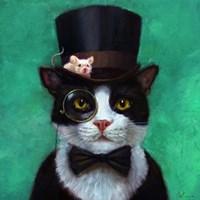 Tuxedo Cat Fine-Art Print
