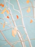 Trees with Orange Leaves Fine-Art Print