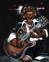 Jazzman Cool Framed Print