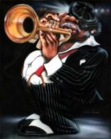 Jazzman Papa Joe Fine-Art Print