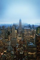 New York View by Night Fine-Art Print