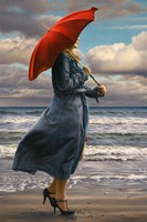 Red Umbrella Fine-Art Print