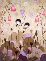 Garden of Sleeping Flowers I Fine-Art Print