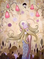 Garden of Sleeping Flowers II Fine-Art Print