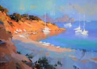 Evening Boats Fine-Art Print