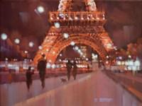 Paris at Night Fine-Art Print