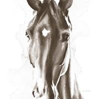 Le Cheval Noir Brown Crop Fine-Art Print