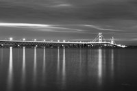 Mackinac Bridge BW Fine-Art Print