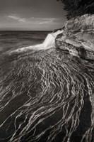 Pictured Rocks Michigan I BW Fine-Art Print