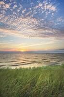 Lake Michigan Sunset I Fine-Art Print
