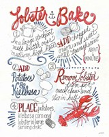 Seafood Shanty V Fine-Art Print